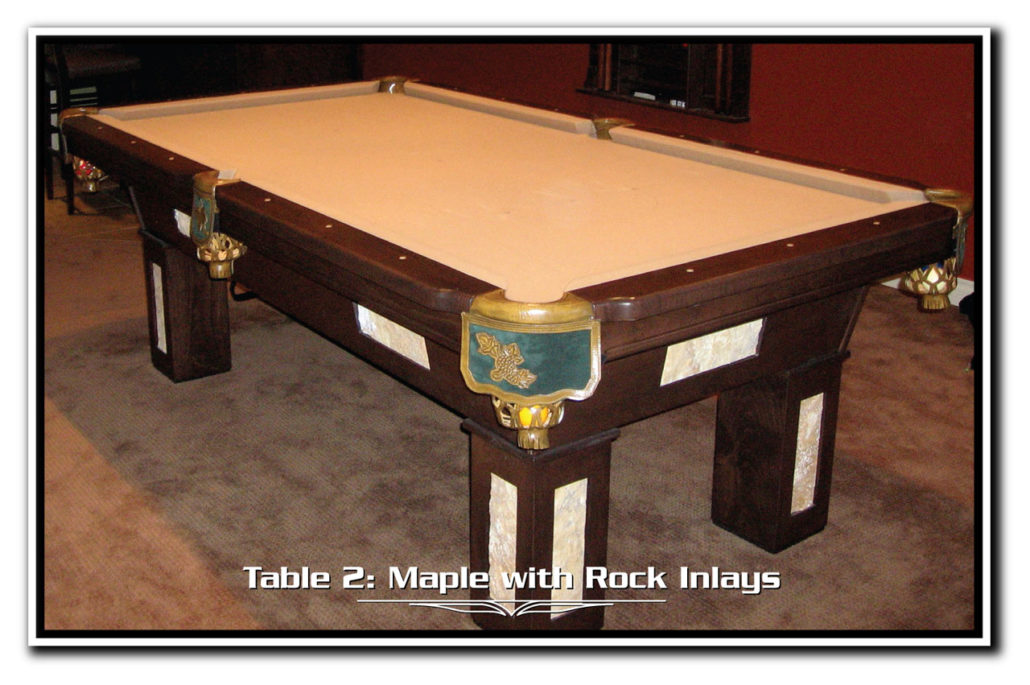 Custom Open Pocket Alberta Billiards